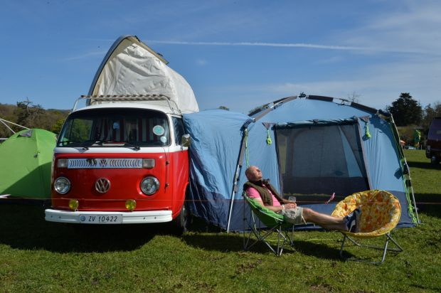 Vantastival: the Co Louth music festival is one of the friendliest and most relaxed around. Photograph: Alan Betson