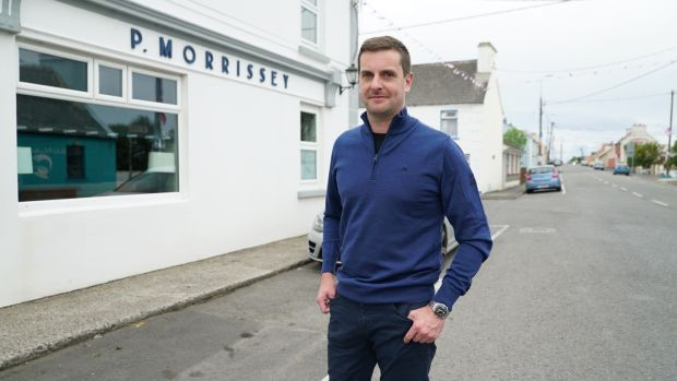Hugh McNally: 'It's a green shoot that this minute village is being provided... It's our only chance of survival and we're very grateful.' Photo: Enda O'Dowdd