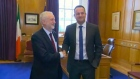 Corbyn meets with Varadkar to discuss UK-EU customs union