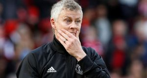 "Manchester United manager Ole Gunnar Solskjaer: 'United's assumption was there was a ""causal link between Solskjær's skill as a manager and the upturn in the team's fortunes"".' Photograph: Andrew Yates/Reuters"