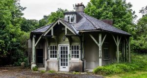 Rose Cottage, which dates from around 1800, has traditionally been the home of the Phoenix Park's head deer keeper, but was vacated in the last decade and has fallen into disrepair. Photograph: James Forde/The Irish Times