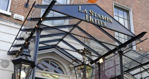 Louis Murray is suing AIB and a receiver the bank appointed over 35/36 Dawson Street, which housed Murray's La Stampa restaurant, a hotel and bar