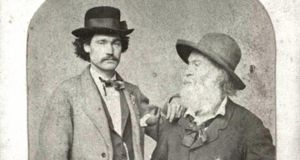 Peter Doyle and Walt Whitman, circa 1869. Photograph: Courtesy of William R. Perkins Library, Duke University, Trent Collection.