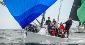 Andrew Craig's J109 Chimaera from Dublin Bay: claimed the overall overall Scottish Series victory as Irish boats dominated.