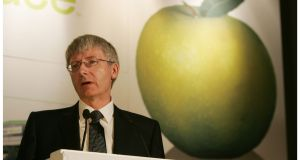Carl McCann, chairman of Total Produce, speaking at the AGM of the company in Dublin earlier this month.