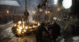 Game of Thrones: HBO's filming of the series in Northern Ireland has helped its film and television industry boom. Photograph: Helen Sloan/HBO