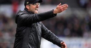 Jurgen Klopp: Champions League success would provide  a fitting climax to an extraordinary effort by  Liverpool over the course of a memorable season.  Photograph: Laurence Griffiths/Getty Images)