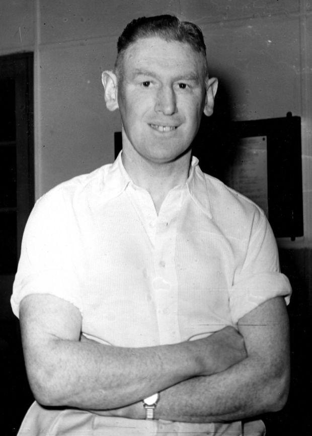 "Garda Jim ""Lugs"" Branigan. Photograph: Dermot Barry/The Irish Times"