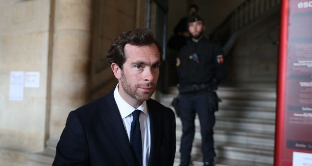 Speaking after the verdict was delivered Sophie Toscan du Plantier's son, Pierre-Louis Baudey-Vignaud was in no doubt but it was the right decision.  Photograph: Steve Parsons/PA Wire