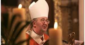 Archbishop of Dublin Diarmuid Martin says he does not want any more 'show funerals' in Dublin for those linked to gangland crime. Photograph: The Irish Times/Dara Mac Dónaill