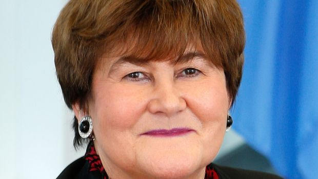 WHO regional director for Europe Zsuzsanna Jakab. She says refugees and migrants enjoy the same human right to health as everyone else