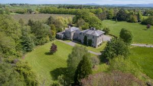 The Irish country estate  Castlegrace
