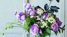 Florists are eschewing outdated 'toxic' oasis foam for natural, curly stalks in a vase