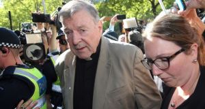George Pell is the highest ranking Catholic cleric worldwide to be convicted of child sex offences. File photograph: Con Chronis/AFP/Getty Images