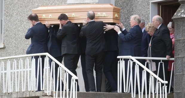 Michael Noonan pays tearful tribute to sister killed in