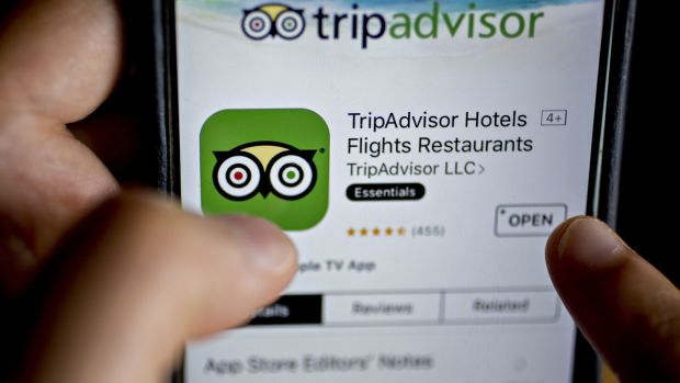 TripAdvisor: It's best to take all reviews on the site with a pinch of salt. Photograph: Andrew Harrer/Bloomberg via Getty Images