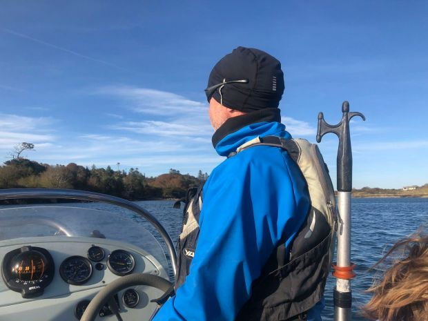 Cruising around Kenmare Bay with Captain Noel from Sunfish Explorer. Photograph: Róisín Ingle