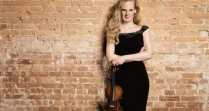 Dutch violinist Simone Lamsma received beautifully-judged support from the National Symphony Orchestra.