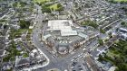 An aerial view of Ashleaf Shopping Centre in Crumlin, Dublin