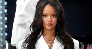 Rihanna: worth an estimated $600 million on the back of pop hits and her fashion brand. Photograph: Charles Platiau/Reuters