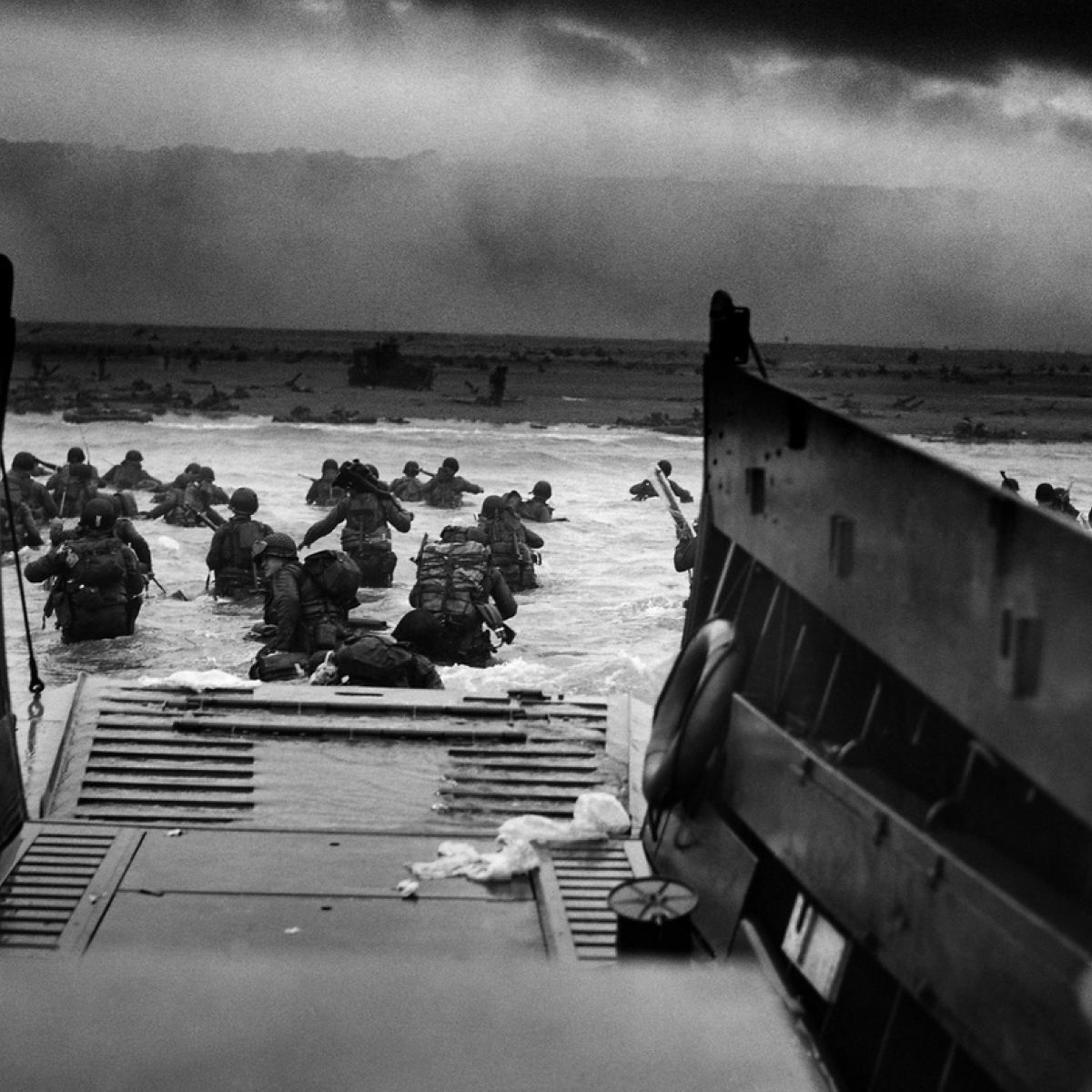 D Day 21 years on the Irish who shared in 'the fury of an aroused ...