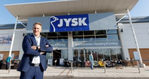 Roni Tuominen, head of retail in JYSK Ireland. Photograph: Andres Poveda