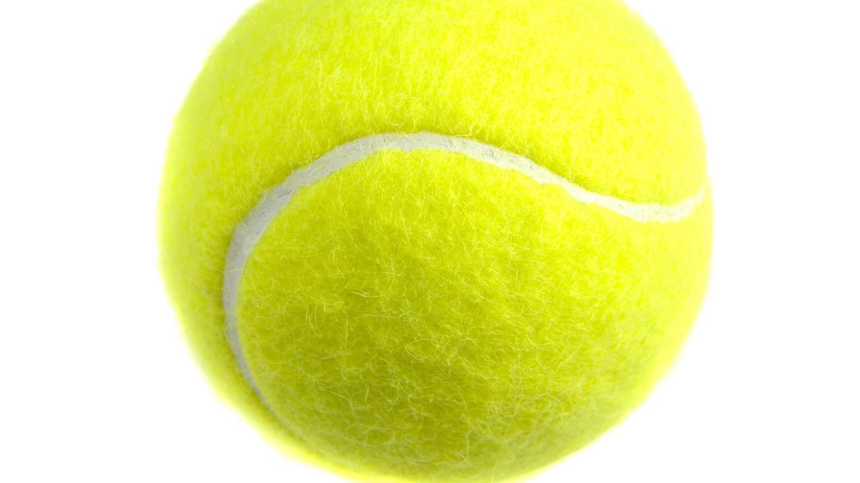 Design Moment Cloth Covered Tennis Balls 1870s