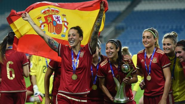 Spain forward Jennifer Hermoso.