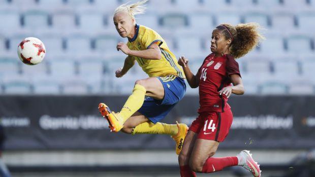 Caroline Seger of Sweden.