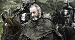 Liam Cunningham in Game of Thrones which is filmed in the North. 'For Northern Ireland, where same-sex marriage remains unlawful, a rather obvious disaster is now waiting to happen.' Photograph: HBO