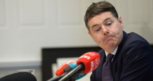 Minister of Finance Paschal Donohoe. Photograph: Dara Mac Donaill/The Irish Times