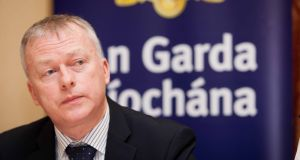 Det Supt Seamus Boland was one of two gardaí honoured at the ceremony in Spain. Photograph: Gareth Chaney/Collins