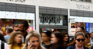 Topshop and Arcadia's other brands have struggled to thrive as shoppers increasingly embrace online retail. Photograph: Reuters