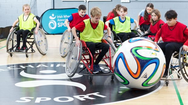 The Irish Wheelchair Association's sports camps are packed with wheelchair sports, from soccer and basketball, to unihockey and archery.