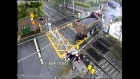 Irish Rail releases CCTV of collisions at level crossings
