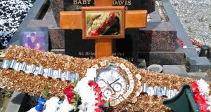 The grave of Jordan Davis in Fingal Cemetery, after his funeral in Darndale. Photograph: Colin Keegan, Collins Dublin