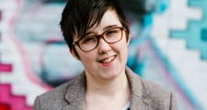 Lyra McKee (29) was shot dead by dissident republican group the New IRA while observing clashes with police in the Creggan area of the city on April 18th.