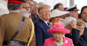 If Trump were to get his way and the EU were to fall apart, we would have to grovel before him in a way that would make the pimping out of the British royals look dignified. Photograph: Tolga Akmen/AFP/Getty