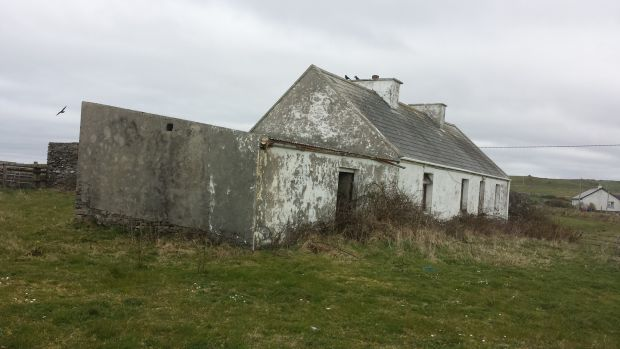 The cottage, mentioned in the 1911 census, on nearly 1.2 hectares (3 acres) was considered derelict.