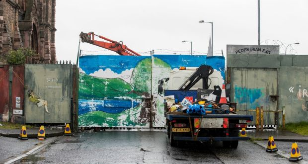 Peace wall gate change to reduce barrier between Belfast's two