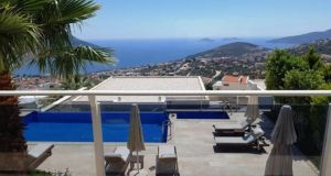 Turkey: this 310sq m (3,336sq ft) house with infinity pool has views of Kalkan Bay