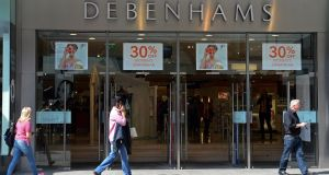 Debenhams  at Henry Street, Dublin. Photograph: Eric Luke