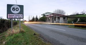 A view of the Border between counties Fermanagh and  Monaghan. File photograph: Bryn Colton/Bloomberg
