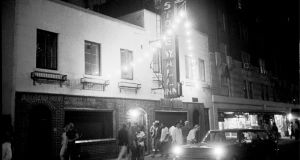 The front of the Stonewall Inn, pictured five nights after a raid by police at the bar in 1969 that triggered a riot. File photograph: Larry Morris/The New York Times