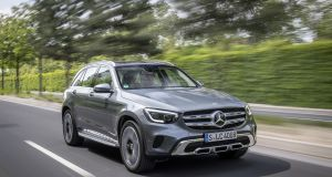Merc's updated GLC keeps one eye on the past and one on the future