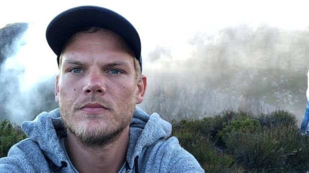 Swedish musician, DJ, remixer and record producer Avicii (Tim Bergling) on Table Mountain in South Africa in January, 2018. Photograph: Instagram/Avicii/Reuters