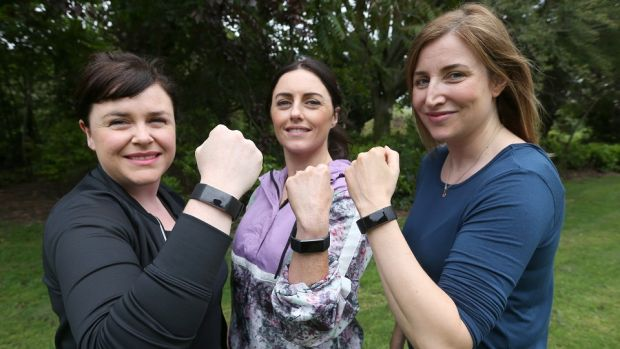 MyLife thrives on groups and connecting with other people. With personalised permission settings you and your friends can see each other's Health Score and activity and keep each other motivated. Left to right: Natasha Barry, danielle Barron, Mimi Murray