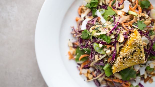 A raw food pad thai by Tara-Lee Byrne, a professional cellist and wholefoods chef.