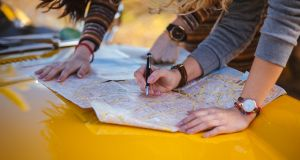 Map-reading skills were tested in today's Junior Cert geography exam. Photograph: iStock