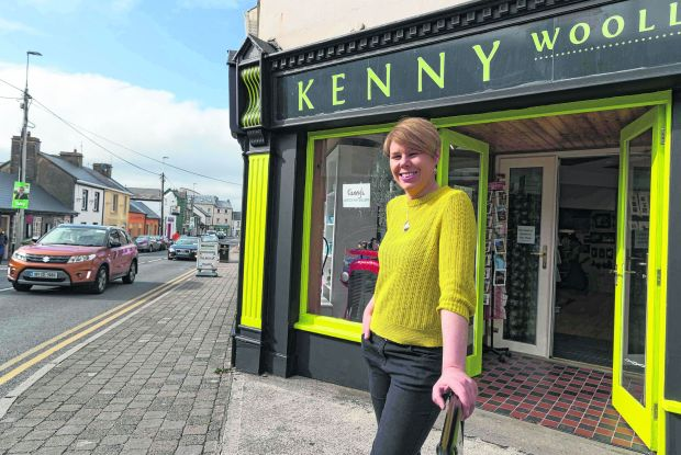 Rosie Kenny in Lahinch. Photograph: Eamon Ward